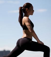 explosive lunges butt exercise