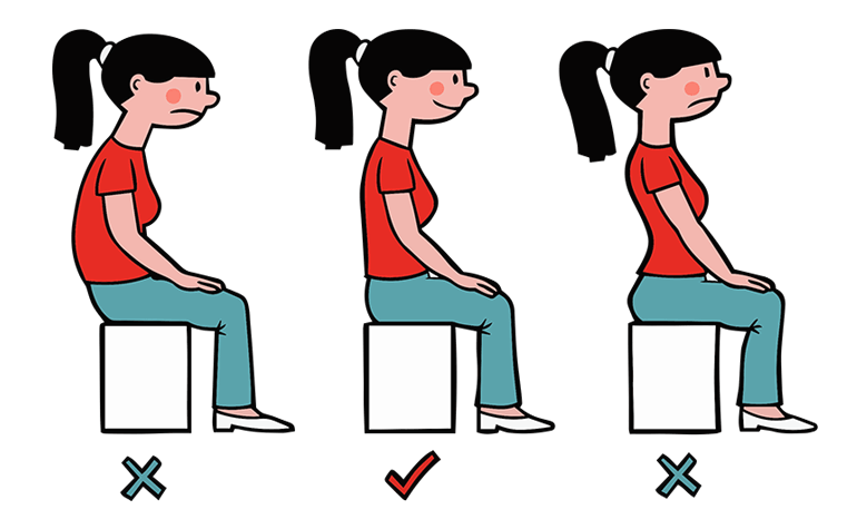 Easy Guide To Good Posture At Work