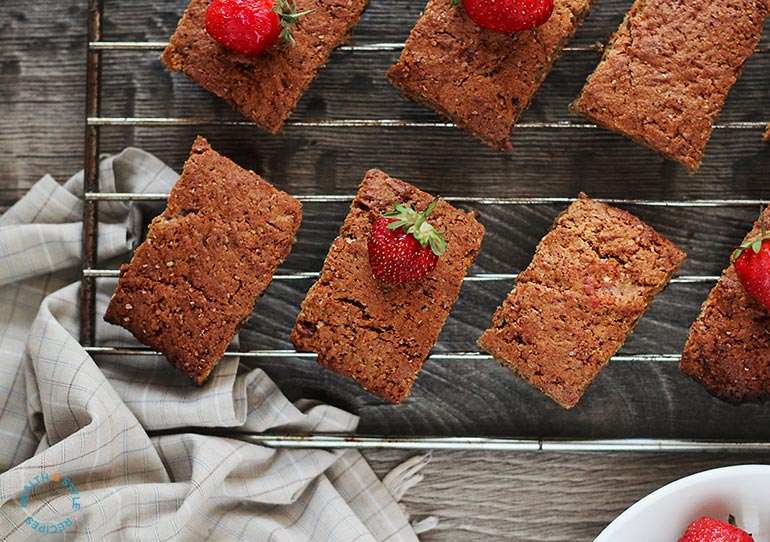 Strawberry and Quinoa Scones