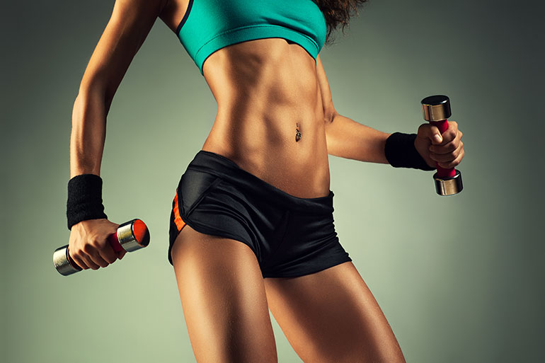 Tone Your Abs Without Crunches - 20 Ab-Toning Exercises