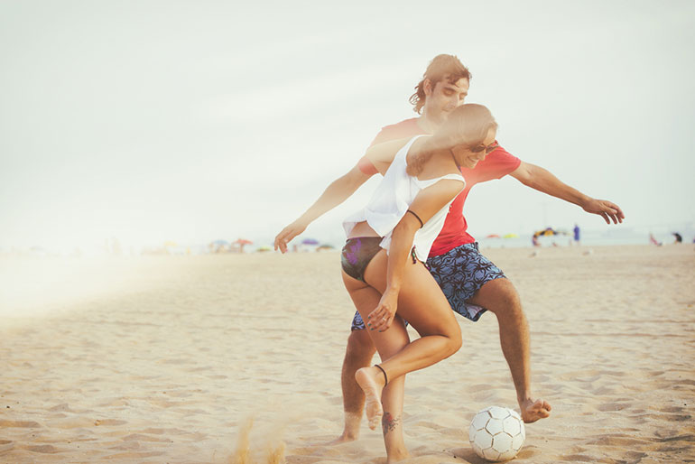 Fun calorie-burning activities to do at the beach