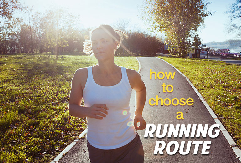How to choose a running route