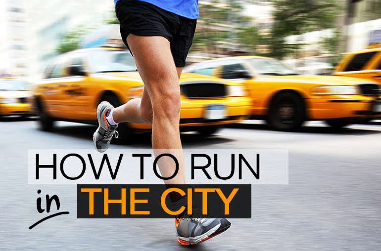 How to run in the city