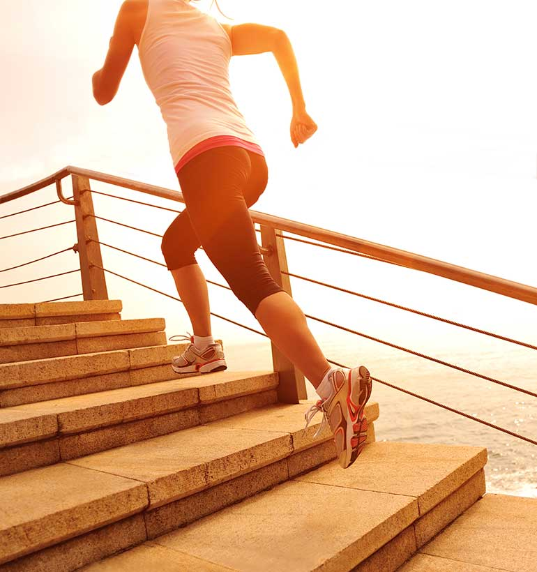 stair climbing calorie loss to weight