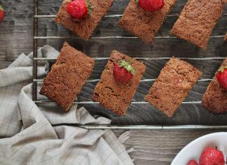Vegan Scones with Strawberries