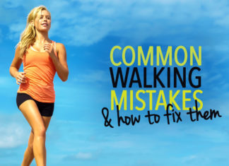 Common walking mistakes and how to fix them
