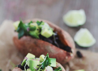 Mexican Loaded Sweet Potatoes
