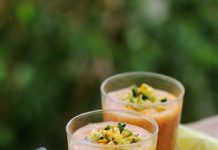Easy Golden Gazpacho