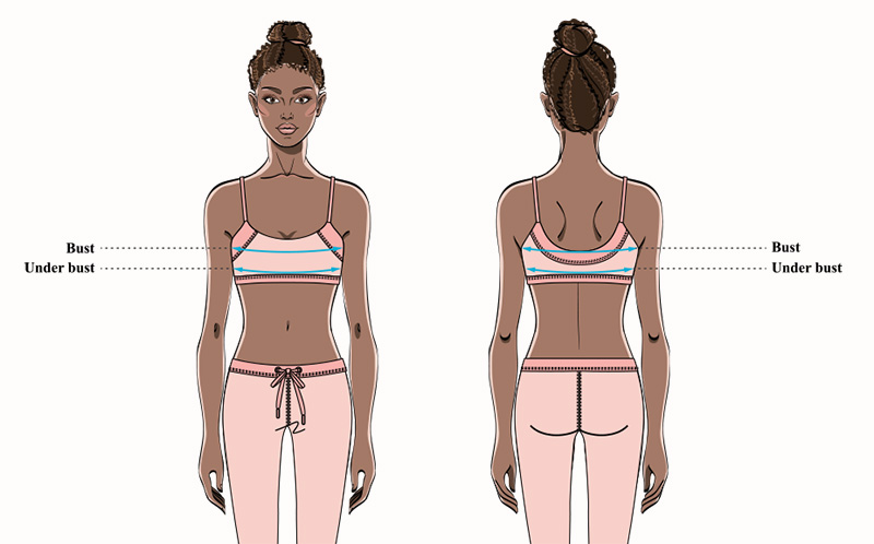 How to Measure for a Sports Bra